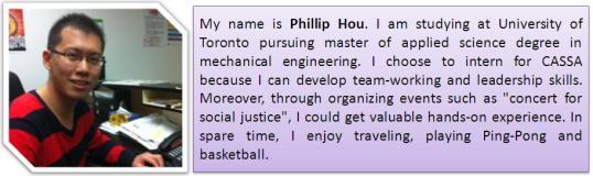 Bio Phillip for CASSA